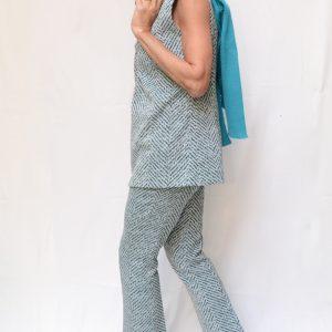 Completo Pantalone Spigato