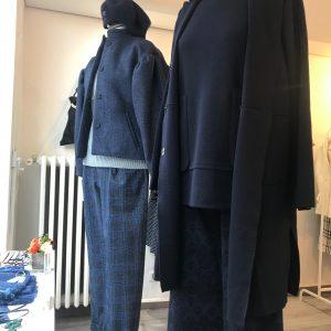 Pantalone maglia jacquard